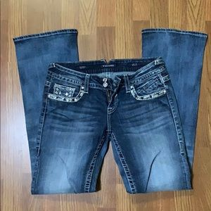 Vigoss Bootcut Jeans with Bling